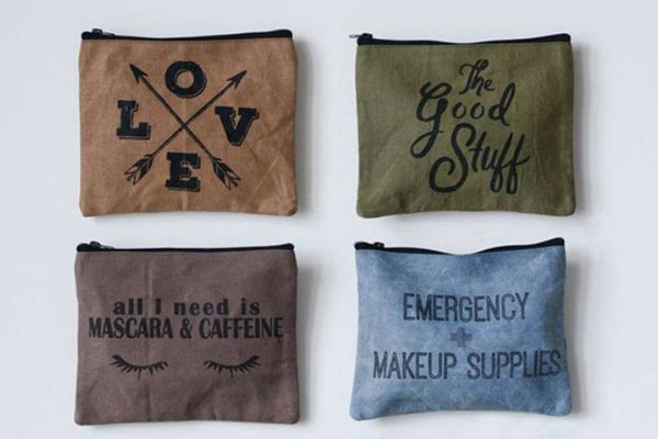 Distressed Pouches