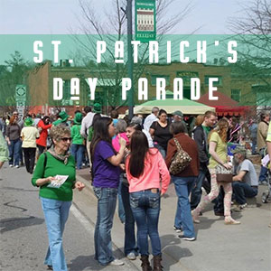 St. Patrick's Day in Downtown Ellijay