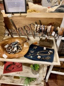 Artful Ellijay Jewelry Display