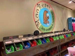 MooBears Ice Cream shop in Ellijay, GA