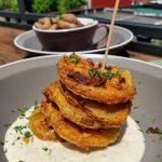 the roof has fried green tomatoes