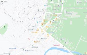 Downtown Ellijay Map