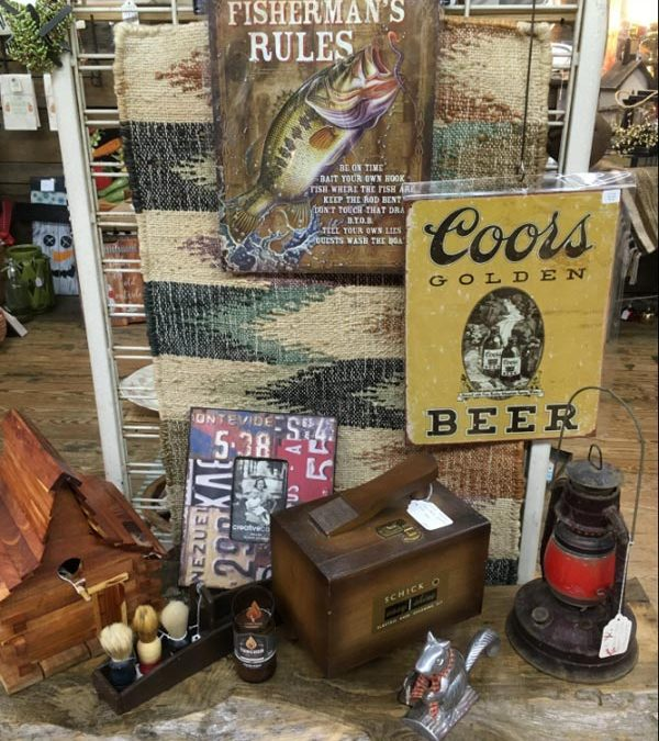 Misty Hollow Antiques - metal signs